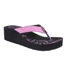 Tips Beli Carvil Tisela L Women S Sponge Sandal Hitam Pink
