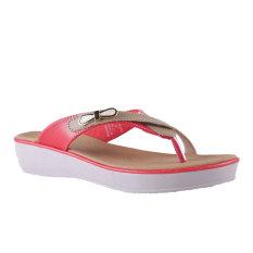 Beli Carvil Ubber 01L Women S Casual Sandal Merah Online Terpercaya
