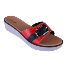 Harga Carvil Ubber 02L Ladies Sandal Casual Black Online Indonesia