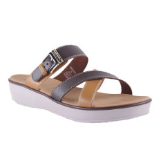 Carvil Ubber-03L Women's Casual Sandal - Dark Brown