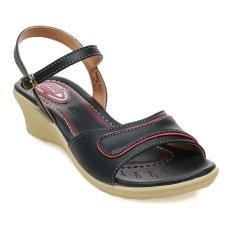 Beli Carvil Venus 01L Casual Sandal Wanita Hitam Cicil