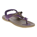 Toko Carvil Wing 02L Ladies Sandal Casual Purple Carvil Indonesia