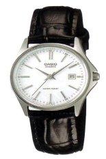 Spesifikasi Casio Analog Jam Tangan Wanita Hitam Strap Kulit Ltp 1183E 7A Lengkap Dengan Harga