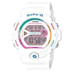 Harga Casio Baby G Jam Tangan Digital Wanita Putih Strap Resin Bg 6903 7C Original