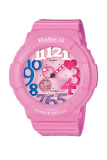 Spek Casio Baby G Wanita Berwarna Merah Muda Damar Tali Jam Bga 131 4B3 Hong Kong Sar Tiongkok