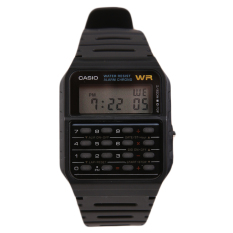 Casio Ca 53W 1Zdr Calculator Data Bank Jam Tangan Hitam Casio Diskon