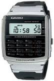 Spesifikasi Casio Calculator Jam Tangan Pria Hitam Strap Karet Ca 56 1D Baru