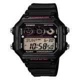 Beli Casio Digital Jam Tangan Pria Hitam Strap Karet Ae 1300Wh 1A2 Cicilan