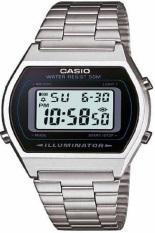Casio Digital Jam Tangan Wanita - Silver - Strap Rantai - B-640WD-1A