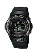 Casio G-Shock Pria Hitam Damar Tali Jam G-7 710-1