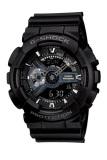 Casio G Shock Jam Tangan Pria Resin Black Ga 110 1B Promo Beli 1 Gratis 1