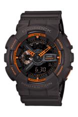 Promo Casio G Shock Men S Black Resin Strap Watch Ga 110Ts 1A4 Casio G Shock