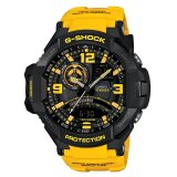 Spesifikasi Casio G Shock Men S Black Kuning Band Ga1000 9B Merk Casio