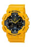 Beli Casio G Shock Men S Kuning Resin Strap Watch Ga 100A 9A Cicil