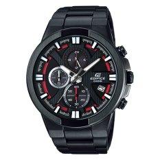 Beli Casio Jam Tangan Pria Hitam Merah Strap Rubber Edifice Efr 544Bk 1A4Vudf Yang Bagus