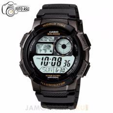 Spek Casio Jam Tangan Pria Hitam Strap Resin Ae 1000 W 1A Dki Jakarta