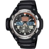 Casio Men S Sgw 400H 1Bv Twin Sensor Altimeter Barometer Thermometer Original