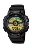 Cara Beli Casio Digital Ae 1100W 1Bv Jam Tangan Pria Black Resin Band