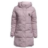 Jual Casual Hooded Double Pocket Chunky Down Coat Untuk Wanita N*d* Pink Ukuran 2Xl Int Xl Intl Online Tiongkok