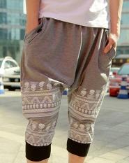 Beli Orangnya Cuek Cropped Dicetak Harem Celana Baggy Jogging Hit Hop Celana Abu Abu Ukuran L Online Terpercaya