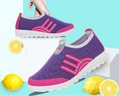 Sepatu Kasual Sejuk Botol Datar Anti Selip Berjalan Sepatu Olahraga Sepatu Sol Lembut Untuk Wanita China Internasional Tiongkok