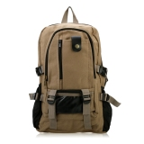 Toko Casual Unisex Kanvas Travel Backpack Rucksack Outdoor Hiking Bag Dengan Multi Pocket Oem Di Tiongkok
