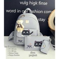 Cat and Dog Backpack 3in1 / Tas Wanita Murah / Tas Ransel Wanita Murah