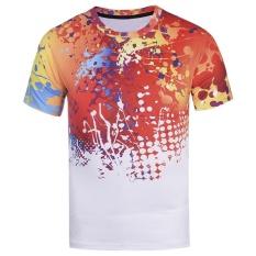 Cat Tshirt Lelaki/Wanita Fesyen 3D Tshirt 3XL 4XL 5XL Musim Panas Saiz Tshirt Tops Tees-Intl