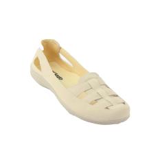 Jual Catenzo Casual Flat Shoes Women Sepatu Wanita Cream Catenzo Online