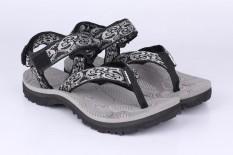 Catenzo DF 051 Sandal Gunung Pria - bahan webbing - sponge outsole - bagus dan keren (grey kom)