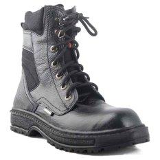 Jual Catenzo High Boots Outlander Black Men Shoes Li 056 Catenzo Murah