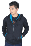 Jual Catenzo Jacket Fleece Black Nux067 Hitam Murah