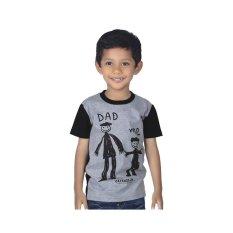 Jual Catenzo Junior Baju Kaos T Shirt Anak Laki Laki Ayah Abu Misty Cjr Cps 010 Antik