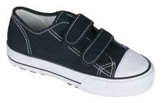 Spesifikasi Catenzo Junior Boy Sneaker Kets Sekolah Canvas Rubber Outsole 226 Cja 101 Hitam Baru