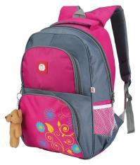 Catenzo Junior CAI 025 tas ransel perempuan - bahan dolby - 32x12x42 - lucu dan bagus (Merah Muda)