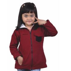 Jual Catenzo Junior Jaket Anak Perempuan Csex156 Maroon Catenzo Junior Branded