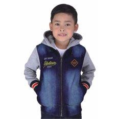 Jual Catenzo Junior Jaket Denim Anak Crcx004 Biru Komb Di Jawa Barat