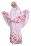 Jual Catenzo Junior Mukena Anak Warna Putih Motif Bunga Bunga Caox090 Online Jawa Barat