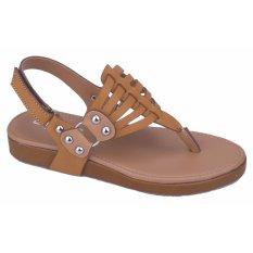Cara Beli Catenzo Junior Sandal Anak Cewek Kasual Cdsx035 Tan