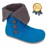 Harga Catenzo Junior Sepatu Anak Balita Perempuan Biru Cas 018 New