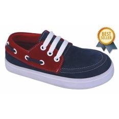 Harga Catenzo Junior Sepatu Anak Laki Laki Biru Navy Cap 207 Satu Set
