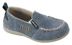 Harga Catenzo Junior Sepatu Anak Slip On Denim Cadx006 Biru Asli Catenzo Junior