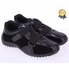 Beli Catenzo Junior Sepatu Sekolah Anak Laki Laki Hitam Cat 071 Pakai Kartu Kredit