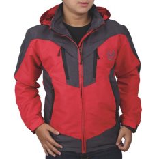 Toko Catenzo Men S Adventure Jacket Red Micro Jaket Outdoor Pria Merah Yang Bisa Kredit