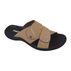 Jual Catenzo Sandal Casual Kulit Pria Men S Sandal Fashion Cream Branded Murah