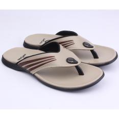 Harga Catenzo Sandal Pria Yy 015 Sintetis Cream Lengkap