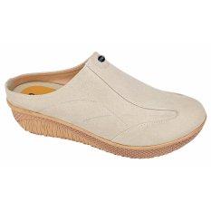 Catenzo Sandal Slip-on Wanita AHx060 Cream