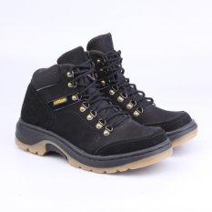 Harga Catenzo Sepatu Adventure Boot Pria Rix612 Delta Black Asli