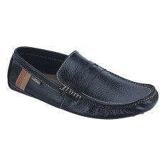 Promo Catenzo Sepatu Loafers Moccasin Leather Pria Men Shoes Hitam Catenzo