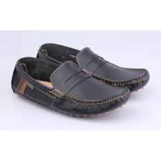 Catenzo Sepatu Pantofel / Formal Pria MPx017 Black Komb